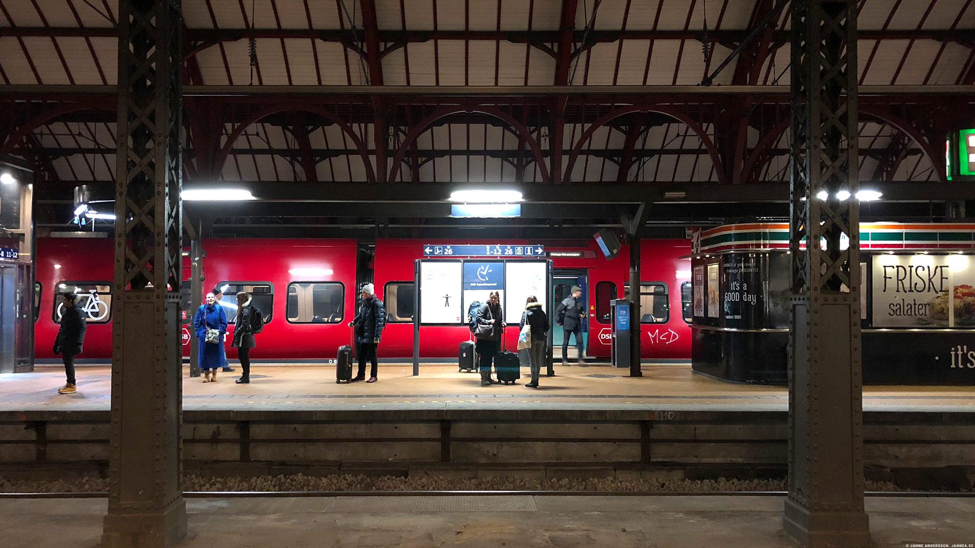 Åka tåg till och i Danmark  © Janne A