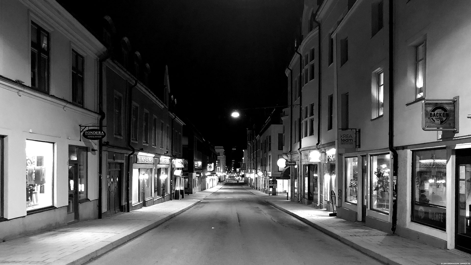 Linköping by night | © Janne A