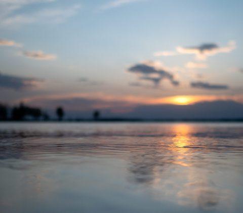 Suddig solnedgångskväll |© Janne A