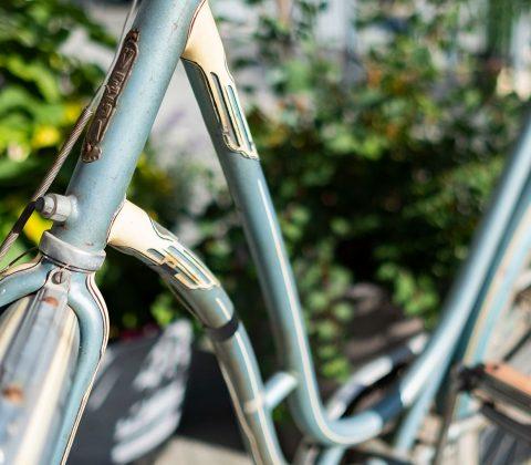 Ny cykel- fast gammal |©Janne A