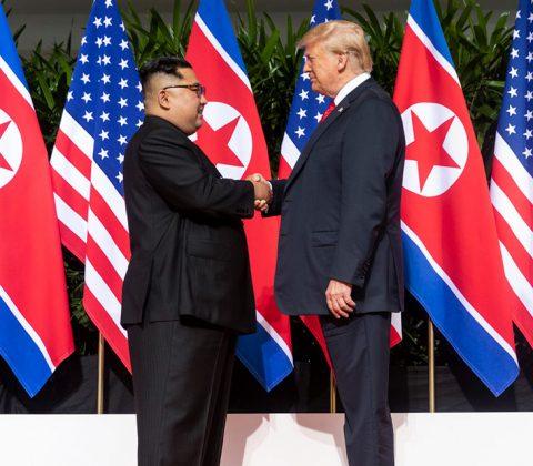 Trump och Jong-Un | POTD-June-12-2018 | Photo Credit: Official White House Photo by Shealah Craighead.