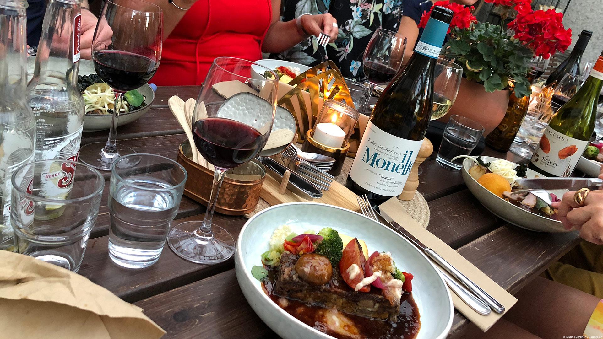 Middag på Hörnet, smaskig och god | © Janne A