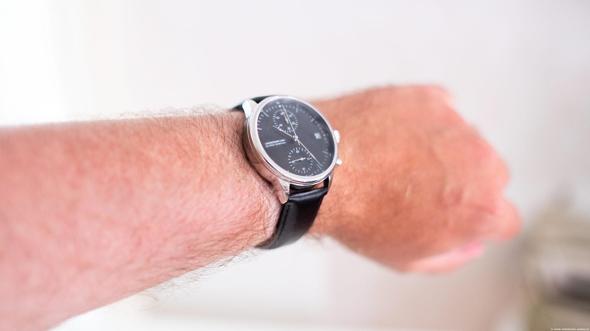 En ny klocka till armen | © Janne A