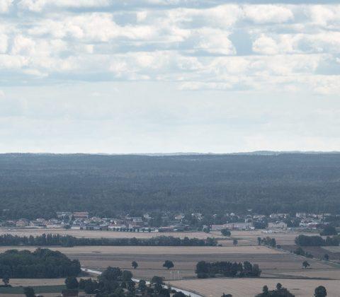 Utsikt från Ombergs hjässa |© Janne A