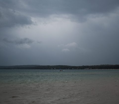 Gråväder, regn och blåst |©Janne A