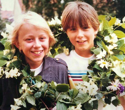 Jag och Fredrik och barndomen | © Janne A