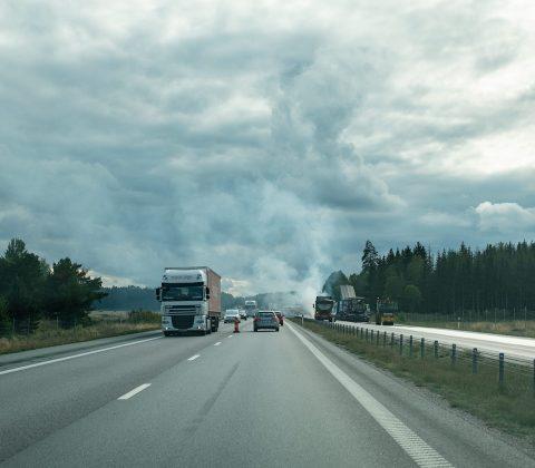 På väg hem från jobbet luktar det asfalt |©Janne A