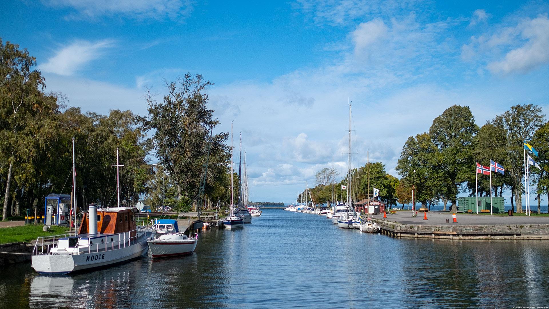 Hamnen i Vadstena | © Janne A