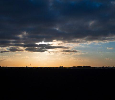 En molnig höstmorgonshimmel |© Janne A