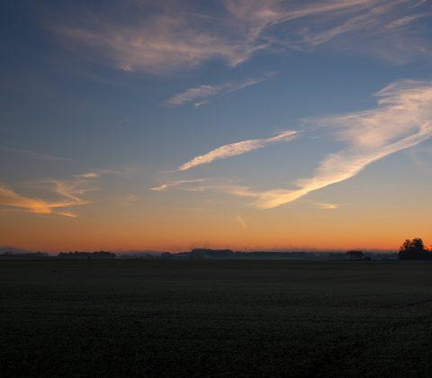 Innan soluppgången, på östgötaslätten | © Janne A