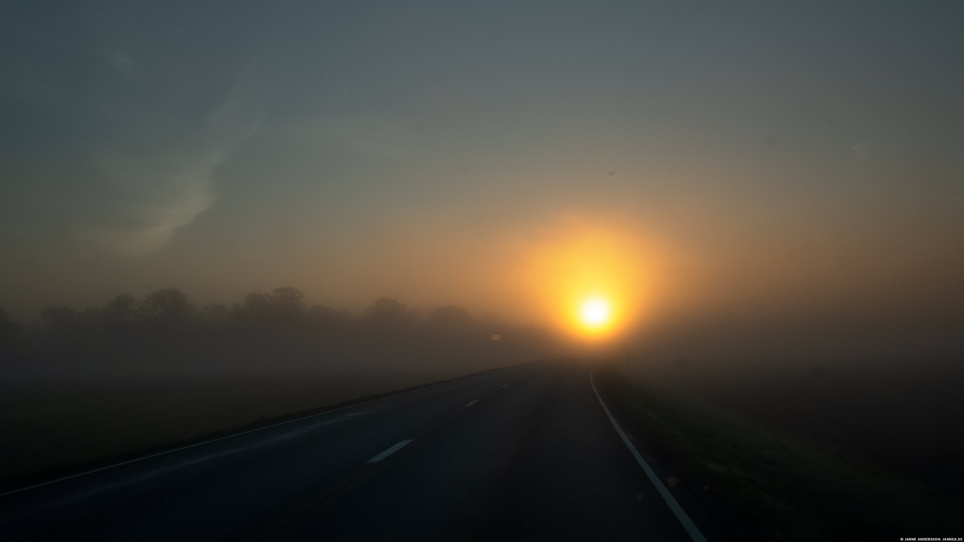 Dimmig soluppgång |© Janne A