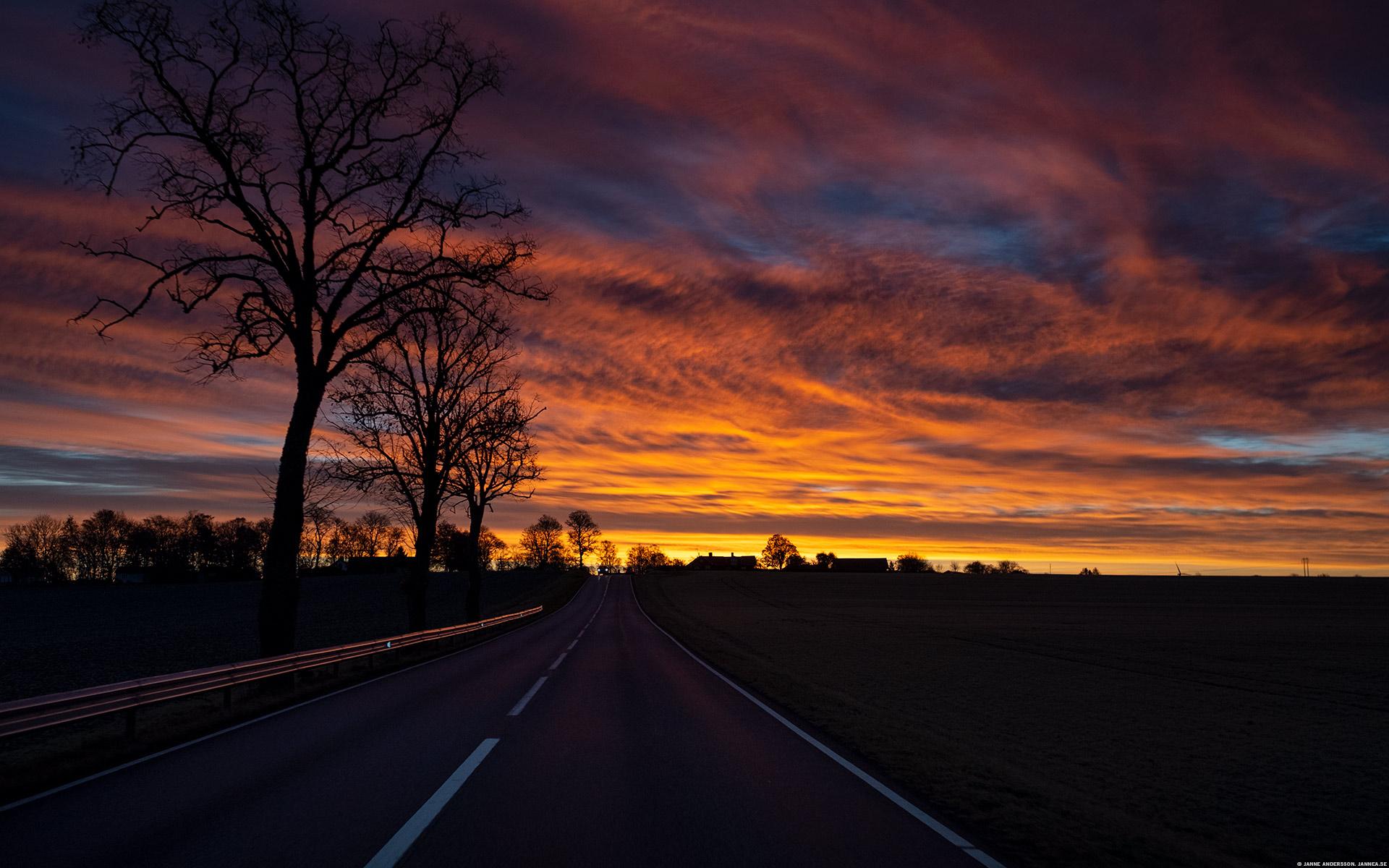 Fantastisk morgonhimmel | © Janne A