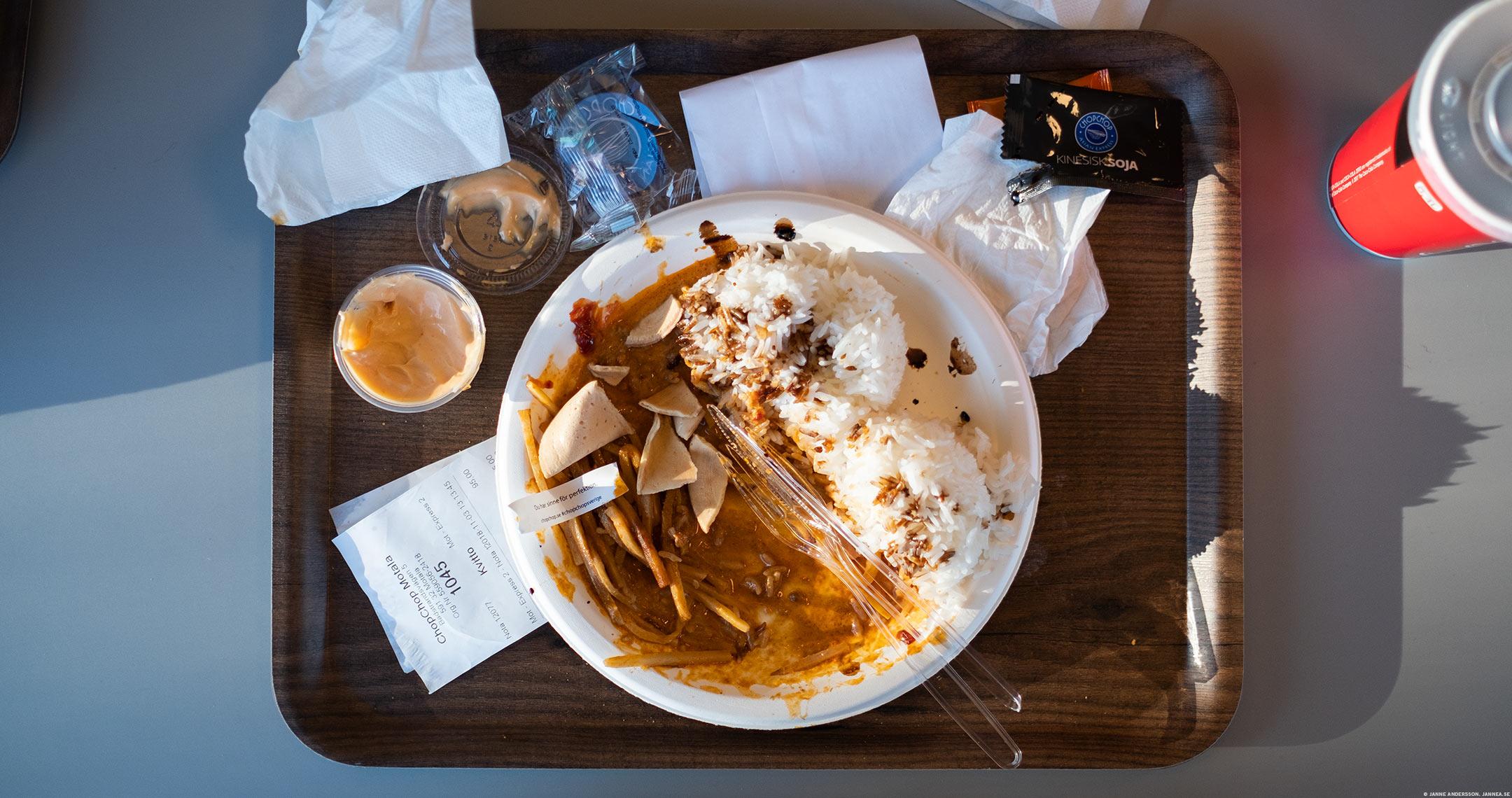 En inte så spännande lunch | © Janne A