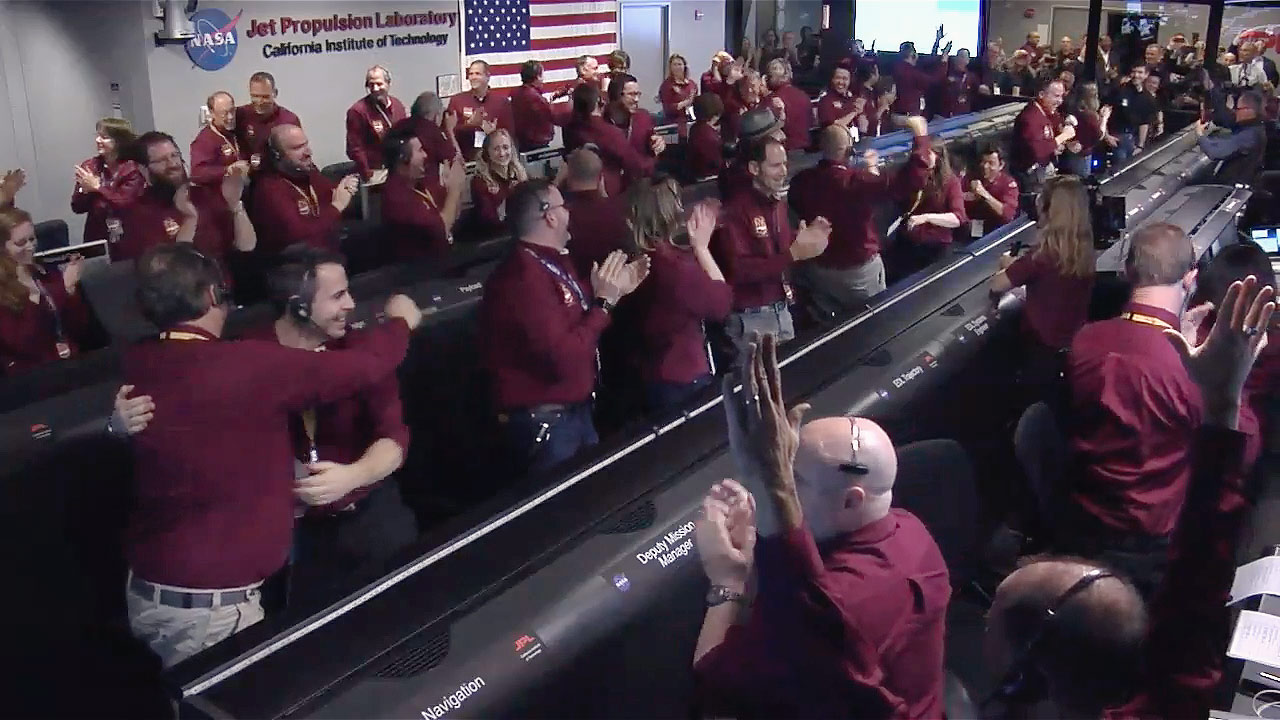 20181126 Nasa – InSight landing