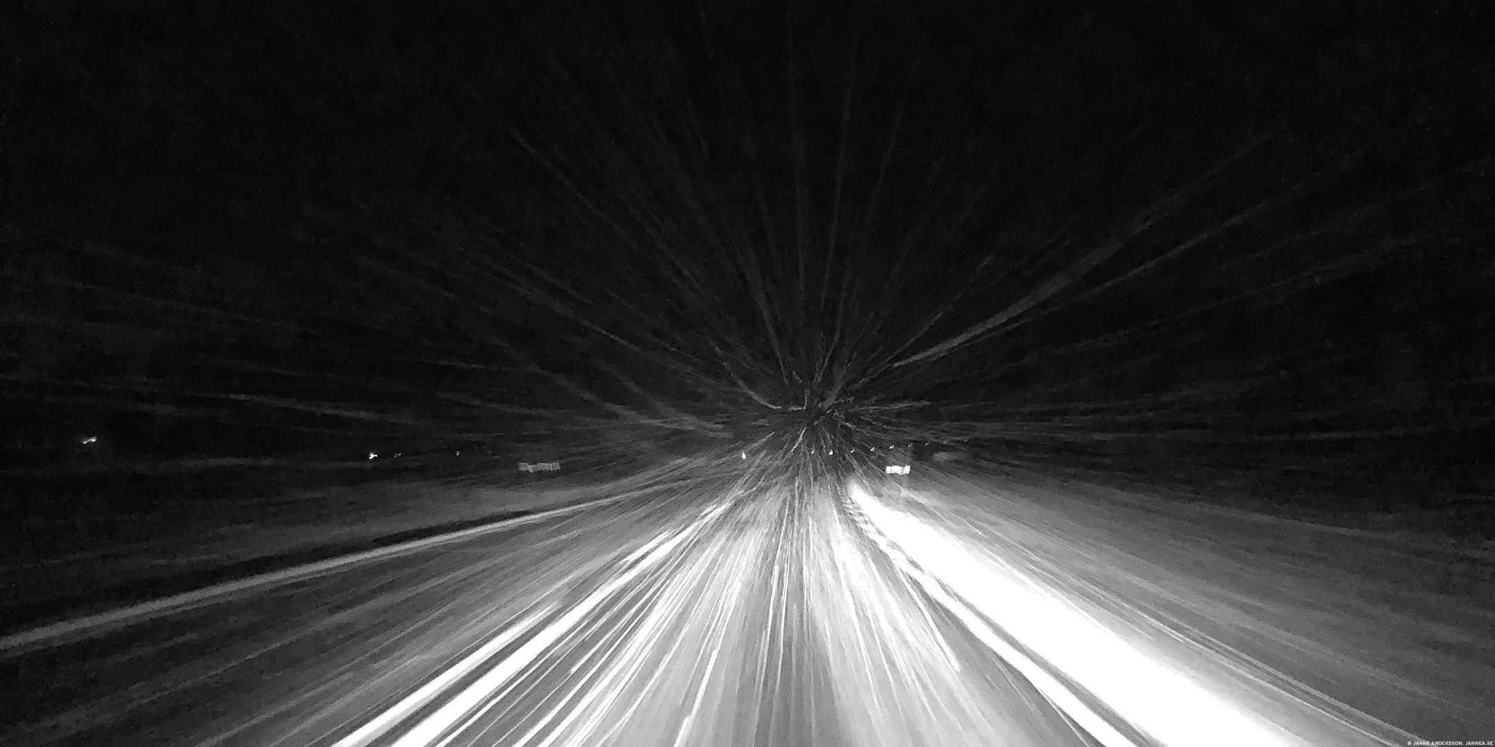 Snöig hemresa | © Janne A