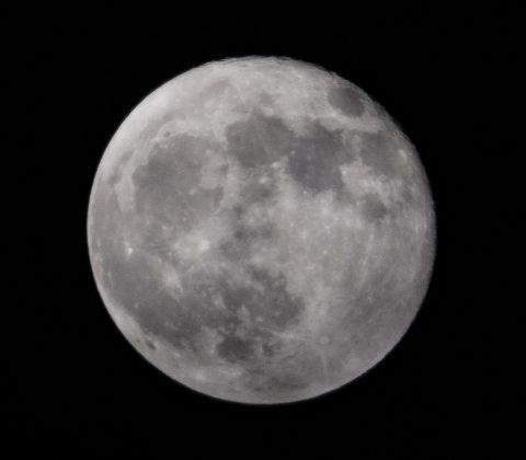 99% av månen och avtagande |© Janne A