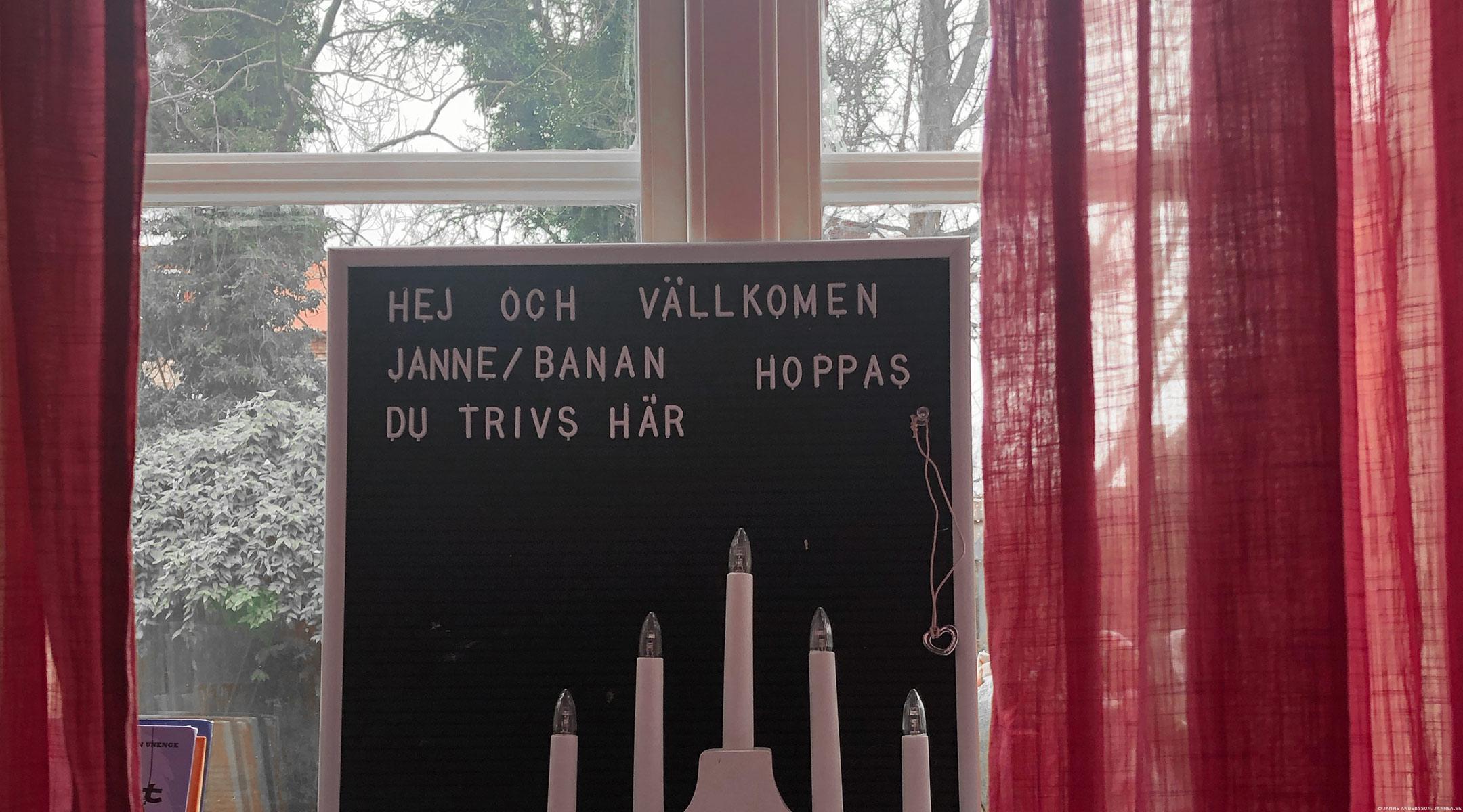 Hej och välkommen till Ystad |© Janne A