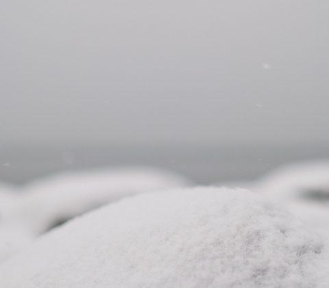 Snö på strandpromenaden | © Jan Andersson