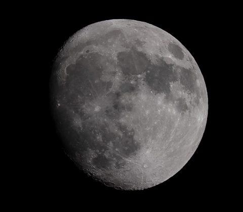 Månen därute i rymden | © Jan Andersson