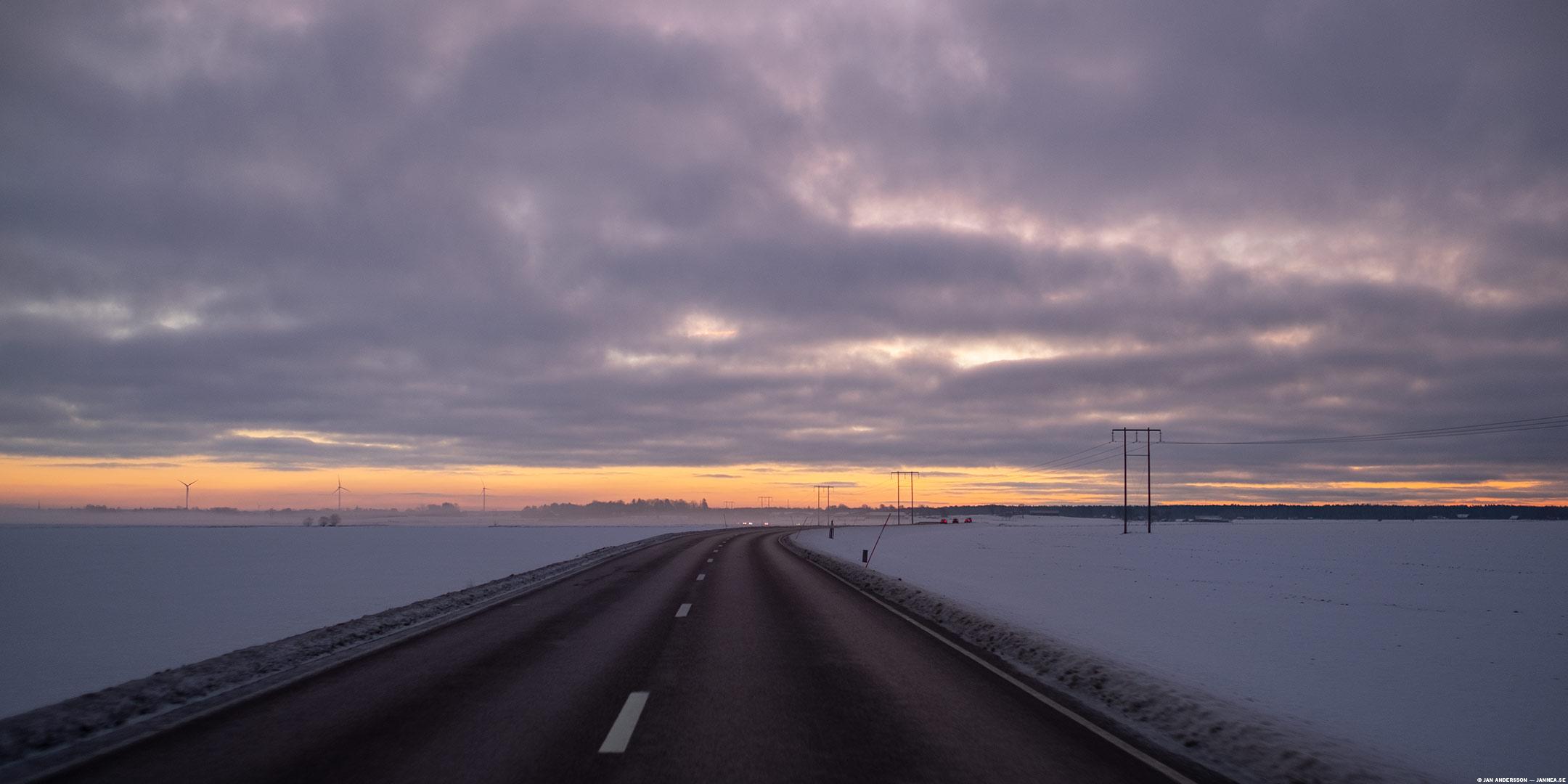 Nämen se på f-n, ljuset!  © Jan Andersson