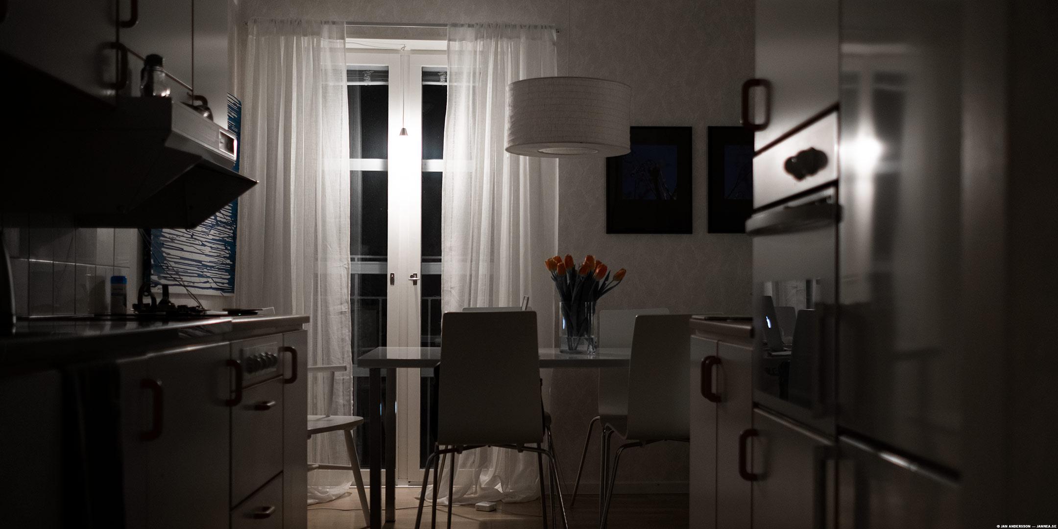 I köket där jag bor är det tyst |© Jan Andersson