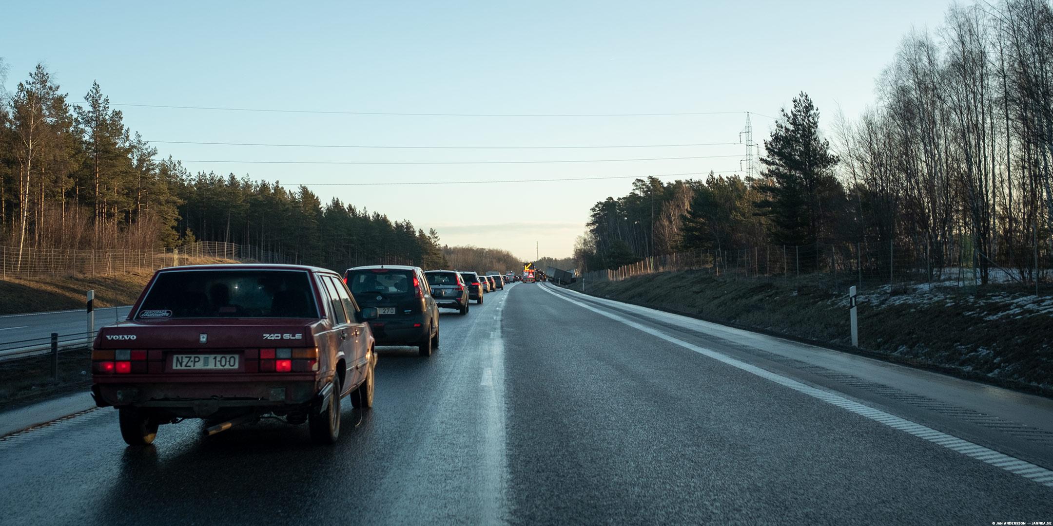 Glädjen över en trafikerad onsdag |© Jan Andersson
