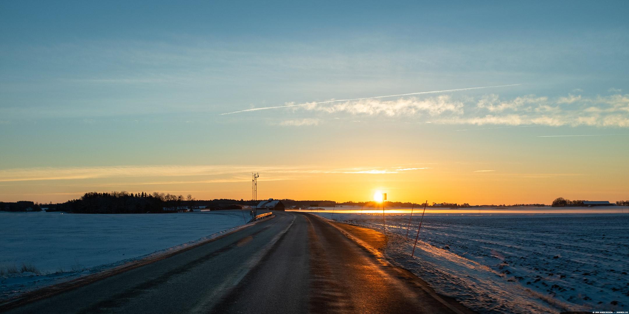 Det var en frisk morgon på väg till jobbet | © Jan Andersson
