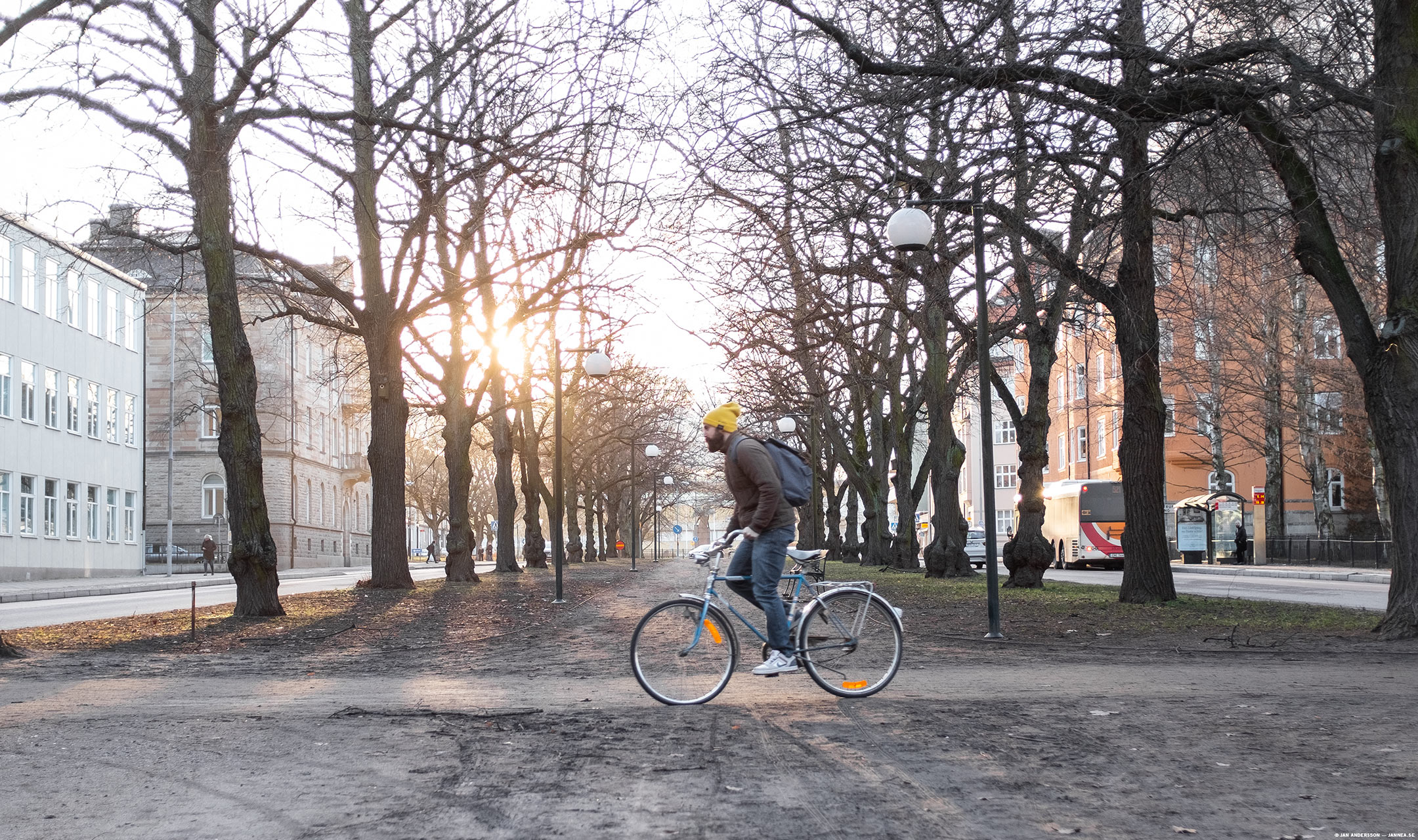 Bicicleta in the sun | © Jan Andersson