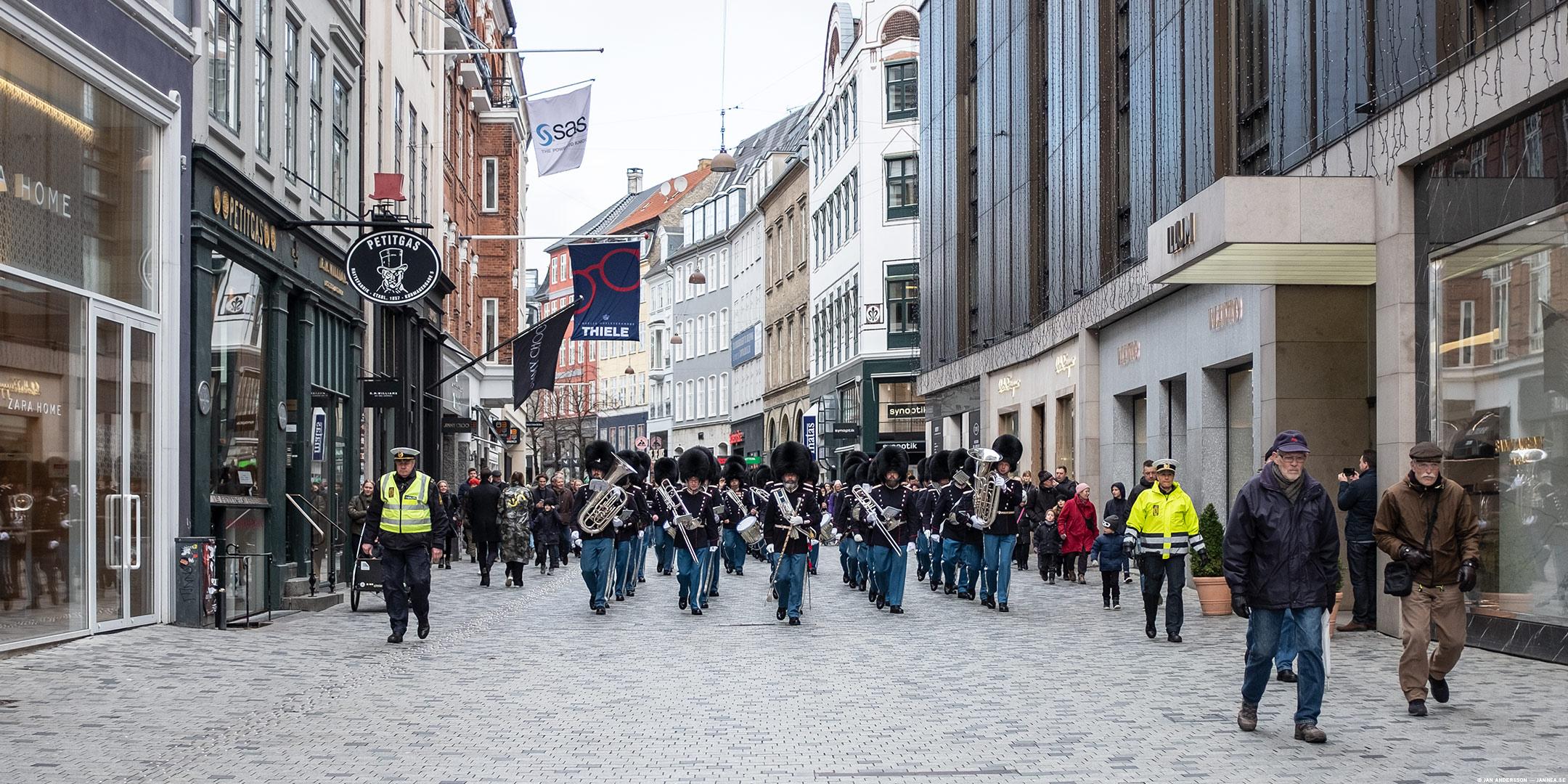 Parad på gata i Köpenhamn |© Jan Andersson