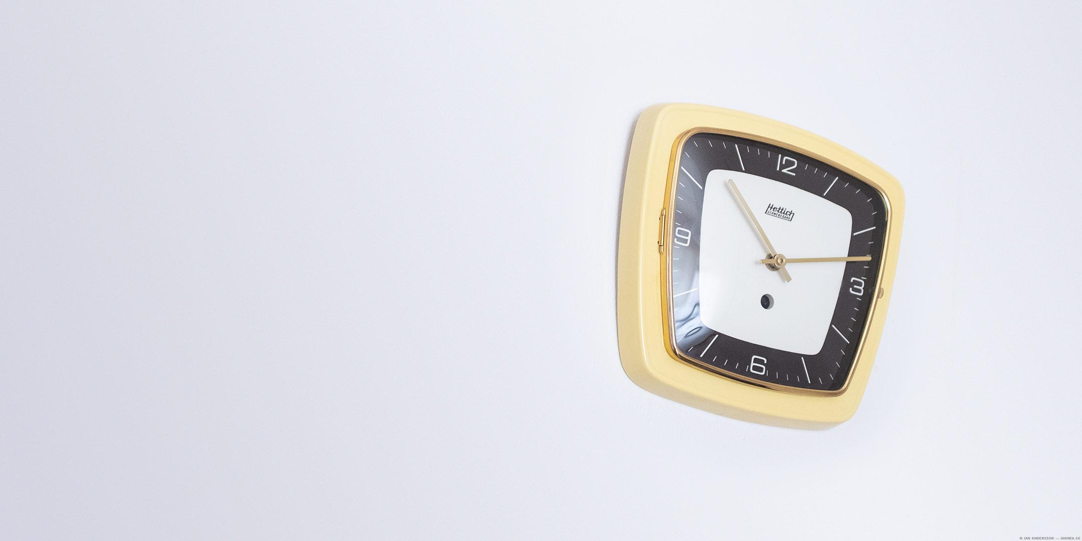 Klockomställningen till sommartid stör mig | © Jan Andersson