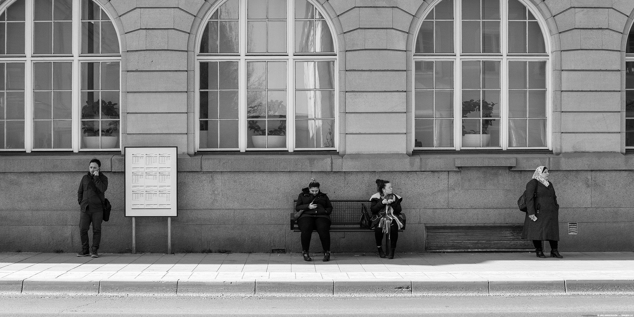 I väntan på att ta sig bort |© Jan Andersson