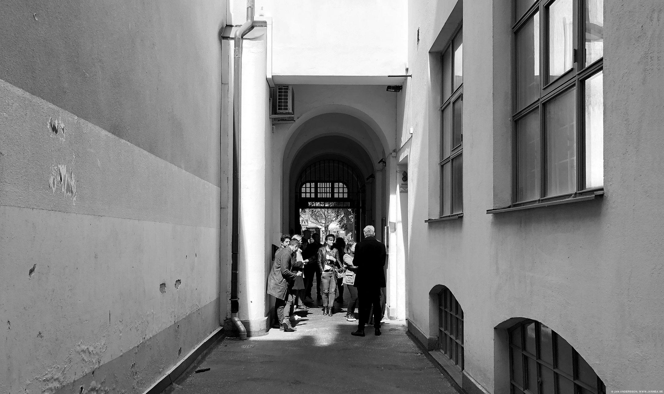 En paus för lunch i Malmö |©Jan Andersson