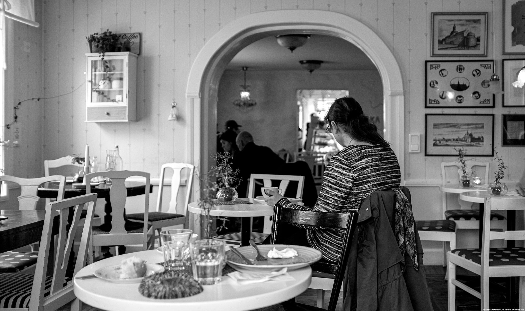 På fiket fikar folk och är oändligt jävla omständiga|©Jan Andersson