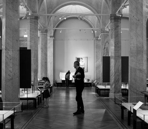 Dotter och far på Nationalmuseum |©Jan Andersson