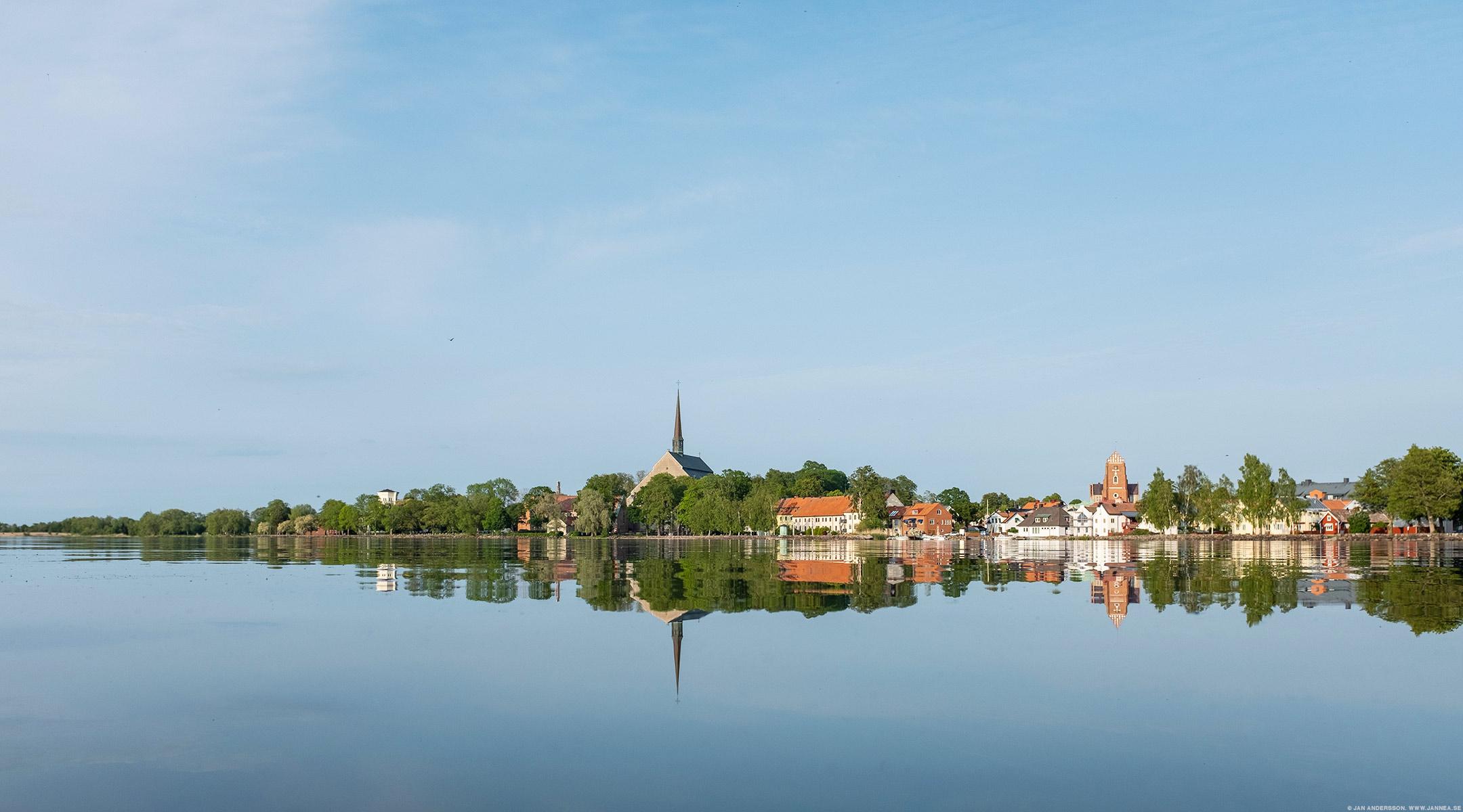 Världens vackraste Vadstena och en alldeles stilla sommarkväll|© Jan Andersson