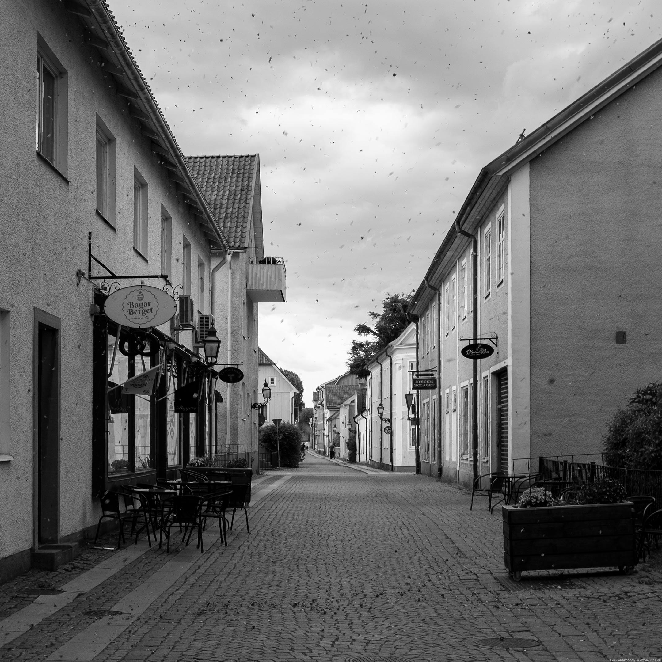 Hemma på min gata i stan |© Jan Andersson