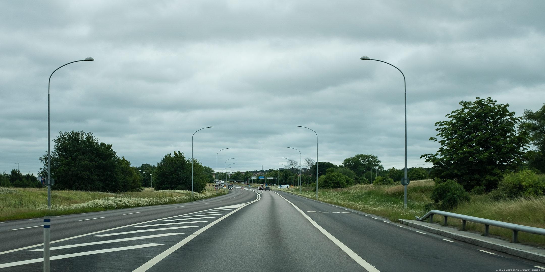 Sommartrafiken är lugn och skön |©Jan Andersson