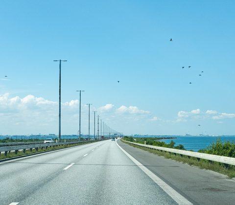 Lång väg och över en lång och stor bro |©Jan Andersson