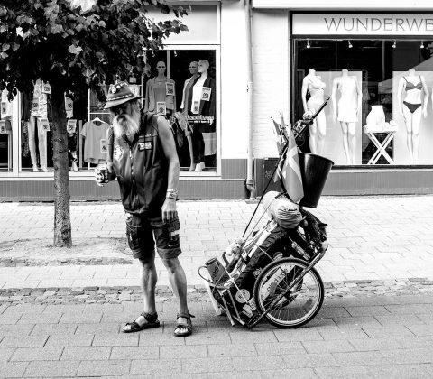 En överförfriskad man i Danmark|©Jan Andersson