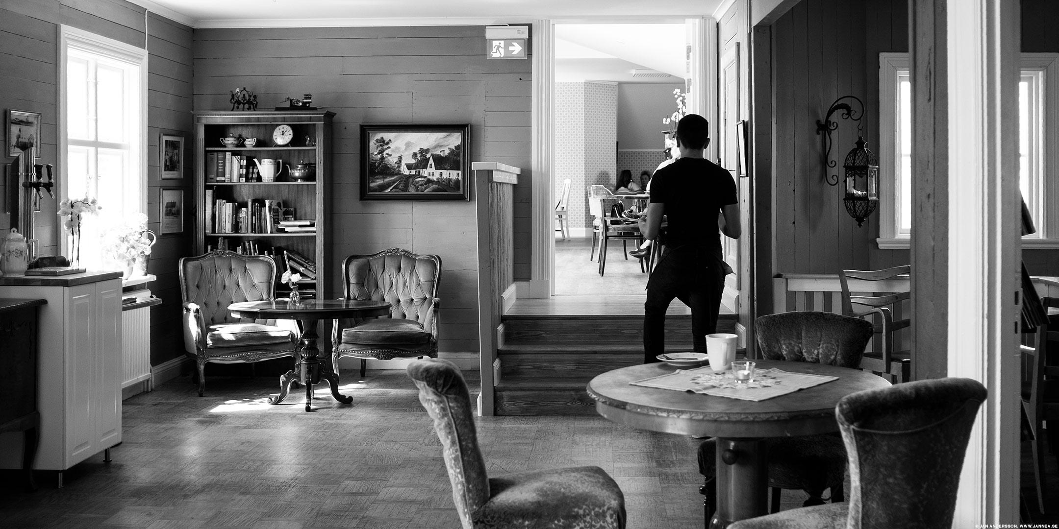 En kaffe på Väderstad Centralkonditori |© Jan Andersson