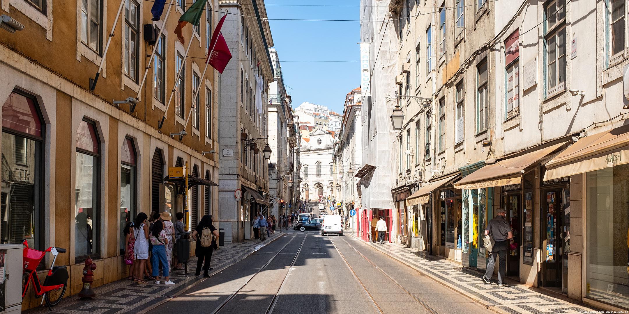 Rua da Conceição i Lissabon, Portugal |©Jan Andersson