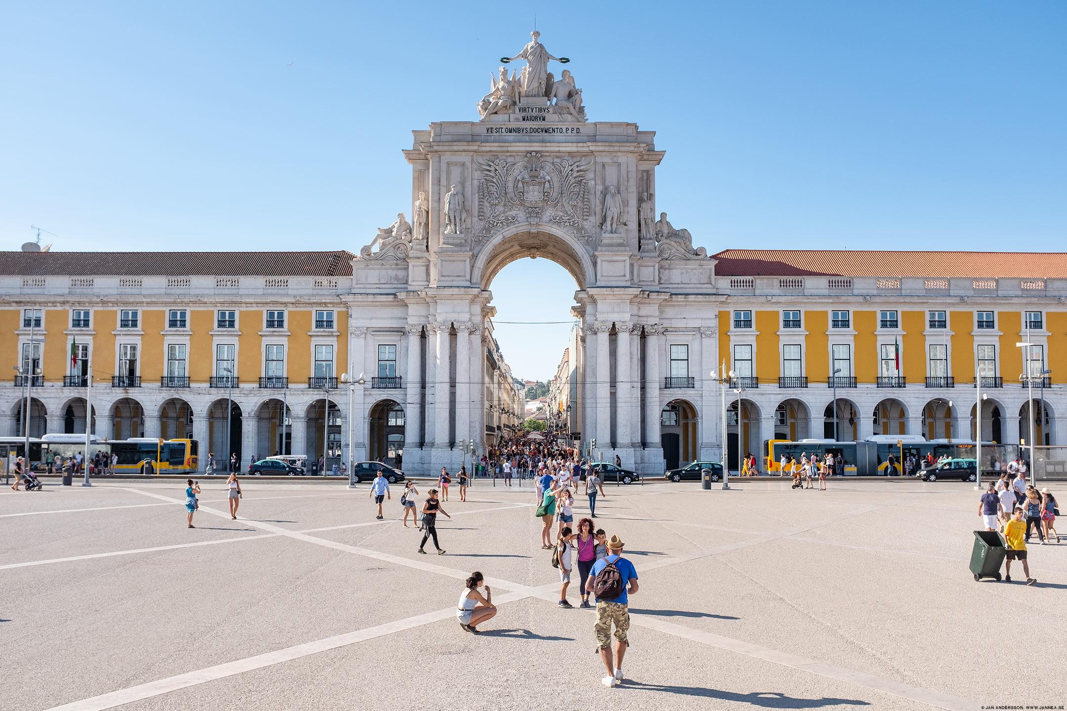 Praça do Comércio, Lissabon, Portugal |©Jan Andersson