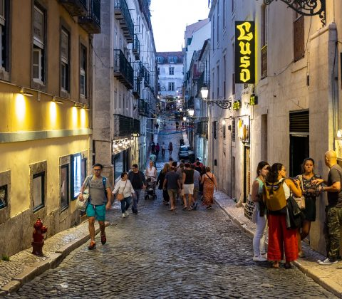 Första kvällen i Lissabon |©Jan Andersson