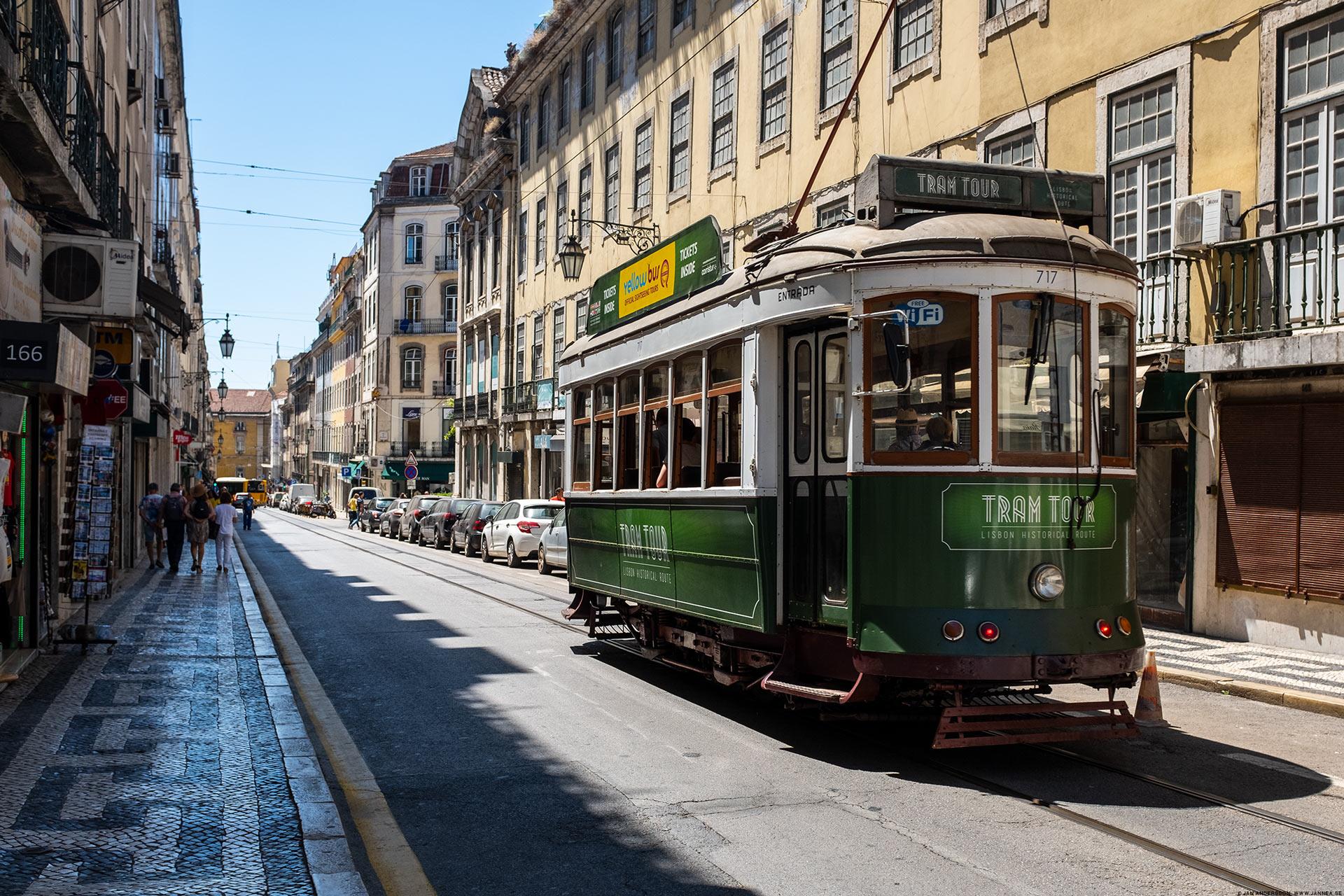 Spårvagn i Lissabon |©Jan Andersson
