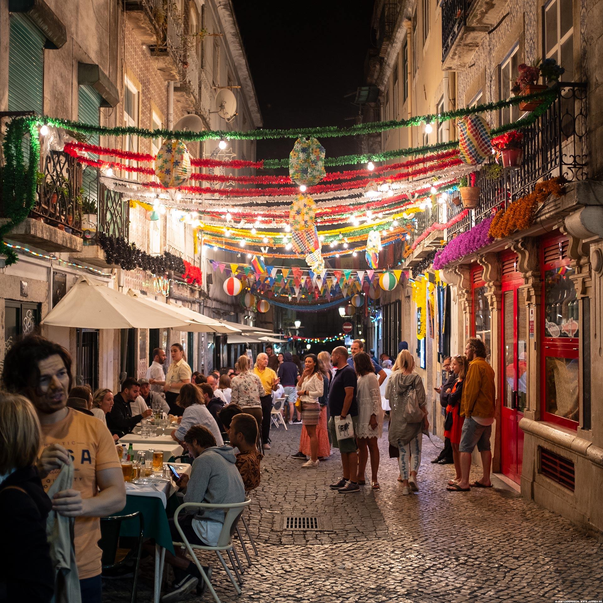 Barkvarteren i Bairro Alto, Lissabon|© Jan Andersson