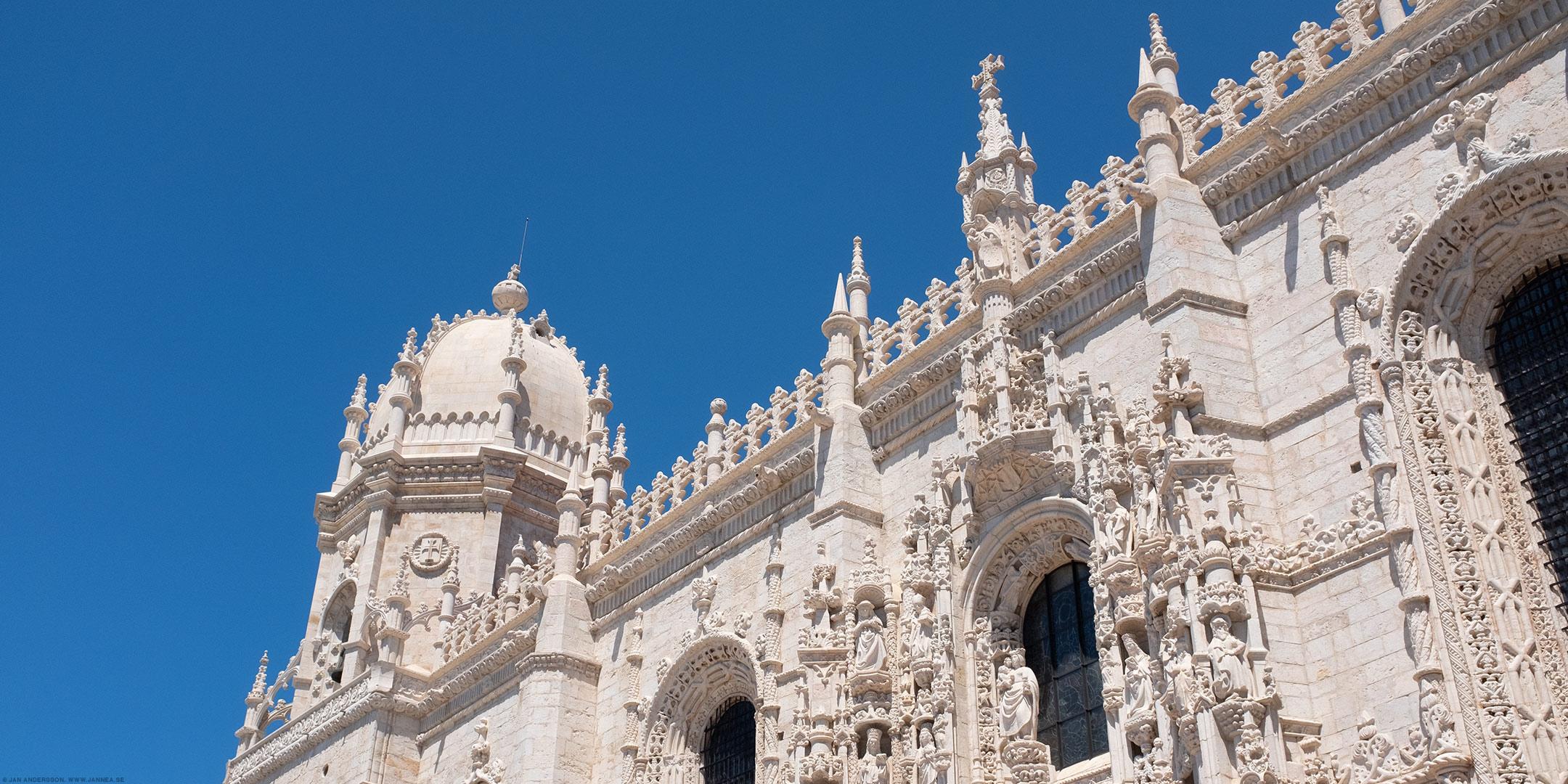 Mosteiro dos Jerónimos, Lissabon |©Jan Andersson