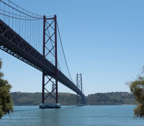 25 April-bron över floden Tajo, Lissabon |©Jan Andersson