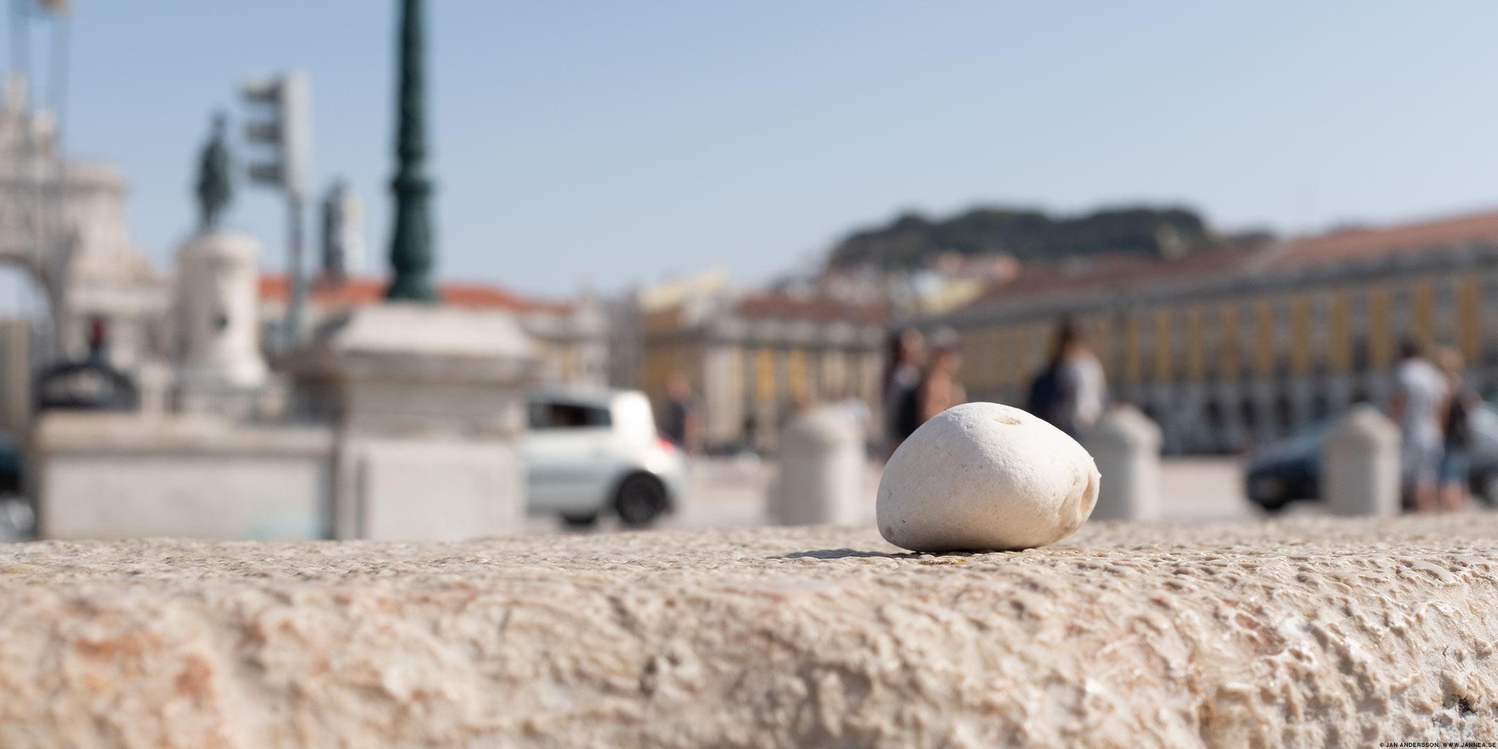 En sten från Lissabon till min samling |© Jan Andersson