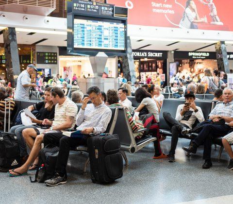 Det där att vara på en flygplats – Aeroporto de Lisboa |©Jan Andersson