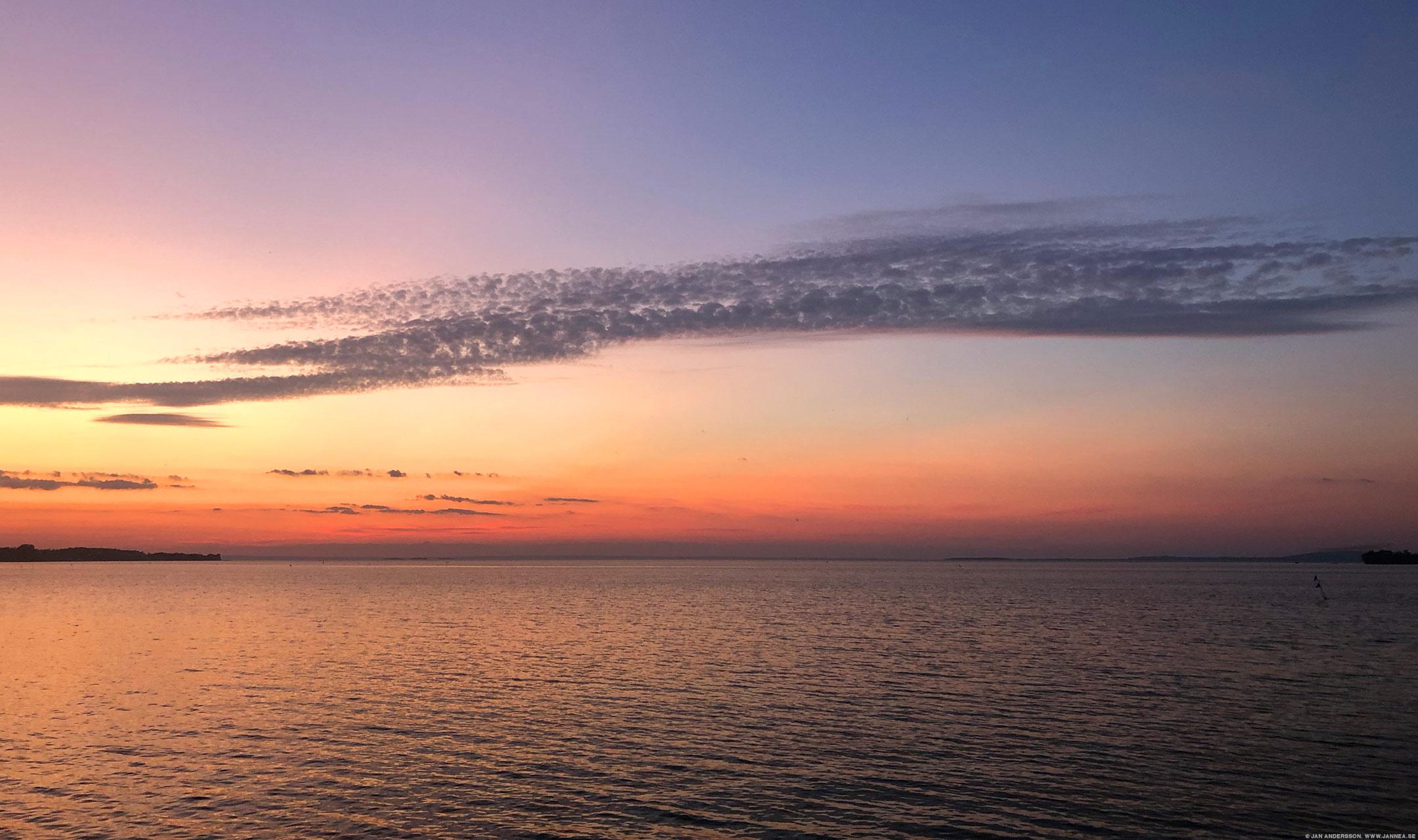 När solen försvinner blir det kallt |©Jan Andersson
